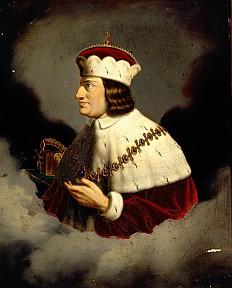 König Albrecht I., Öl auf Leinwand, 1. Hälfte 19. Jahrhundert