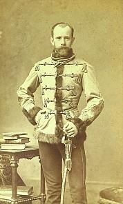 Kronprinz Rudolf, historische Fotografie, um 1880