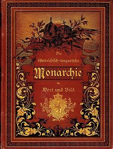 """""""Die österreichisch-ungarische Monarchie in Wort und Bild"""", cover design"""