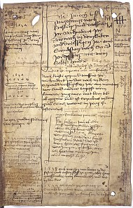 Notebook of Frederick III, parchment, 1437