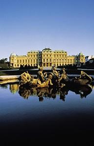 Upper Belvedere, built to designs by Lucas von Hildebrandt 1721–1722, photograph