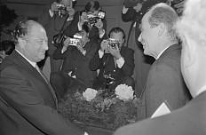 Bruno Kreisky and Otto Habsburg-Lorraine, 1972