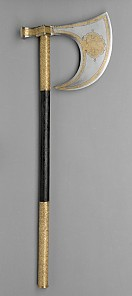 Battleaxe, end of 16th century