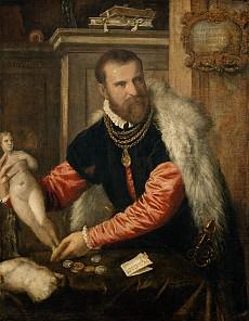 Tizian: Jacopo Strada, um 1567/68