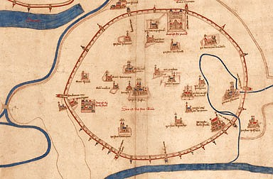 The 'Albertinian Map'– the earliest map of Vienna, 1421/22