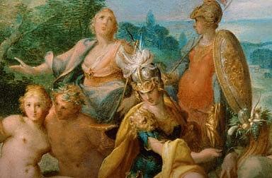 Bartholomäus Spranger: Allegory of Emperor Rudolf II, 1592