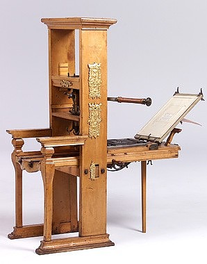 Letterpress printing machine