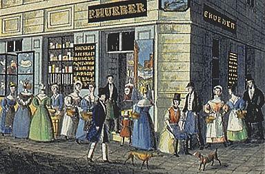 Carl Vasquez, Gewölbe der vorzüglichsten Handelsleute, um 1835