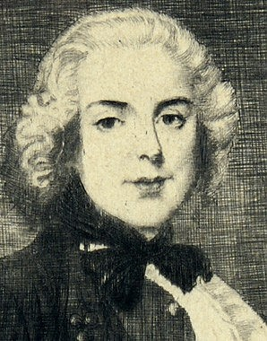 *The Young Mozart*, portrait, 1901, etching