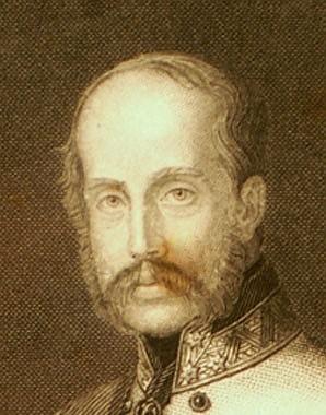 Erzherzog Franz Karl, Stahlstich, mit seiner eigenhändigen Unterschrift