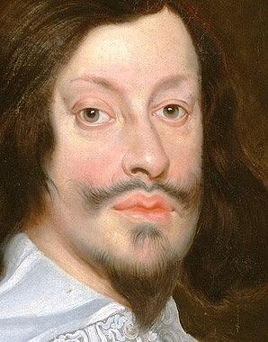 Frans Luycx: Emperor Ferdinand III, oil painting, c. 1637/1638
