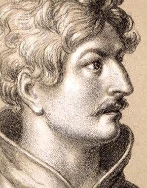 "Johann ""Parricida"", der Mörder König Albrechts I., Lithografie, 1820"