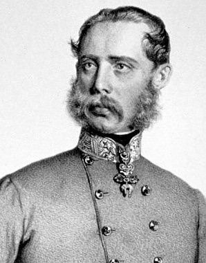 Josef Kriehuber: Erzherzog Karl Ludwig, Lithographie 1862