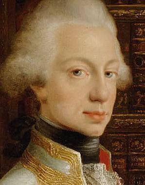 Joseph Dorffmeister: Grand Duke Ferdinand III in his library, 1797