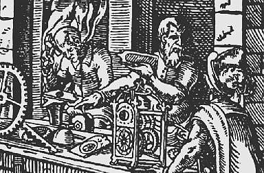 Jost Amman: Clockmaker, 1568