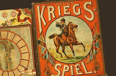 Kriegsspiel, um 1914