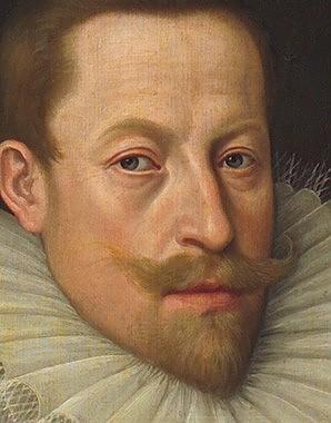 Lucas van Valckenborch: Emperor Matthias as archduke, c. 1583