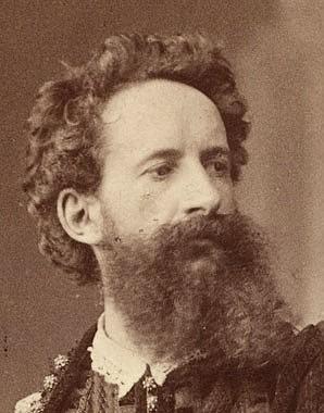 Ludwig Angerer: Hans Makart in Renaissance costume, 1879