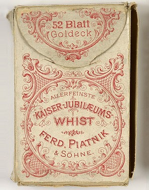 Spielkarten von Piatnik mit Porträts aus dem Kaiserhaus