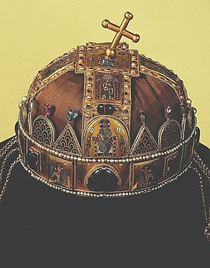 The Crown of St Stephen, crown of the Kingdom of Hungary