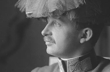 Ferdinand Schmutzer: Porträtfoto von Kaiser Karl I.