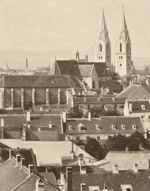 Wiener Neustadt, photograph, 19th century