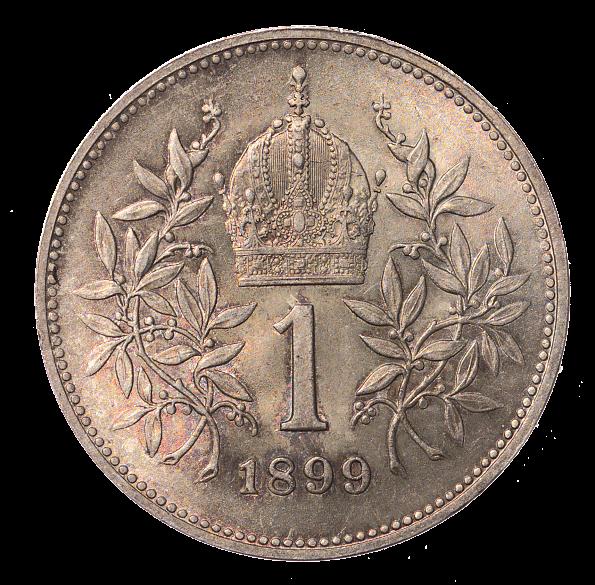 1 krone, 1899