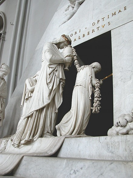 Alberto Canova: Grabdenkmal für Erzherzogin Marie Christine, 1800