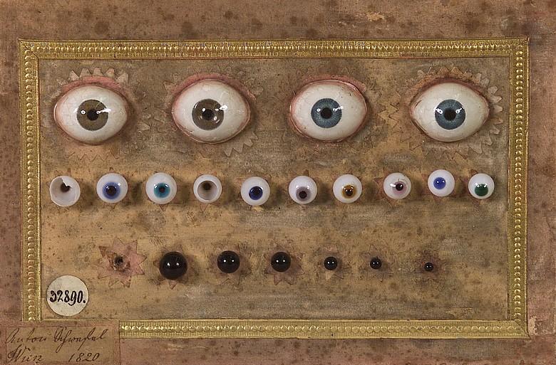Anton Schwefel, Künstliche Augen aus Glas, 1820
