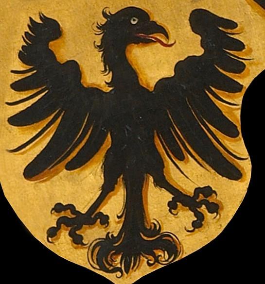Beispiel für einen mittelalterlichen Reichsadler