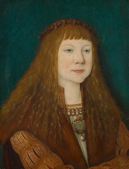 Bernhard Strigel: King Louis II of Hungary as a boy, after 1515