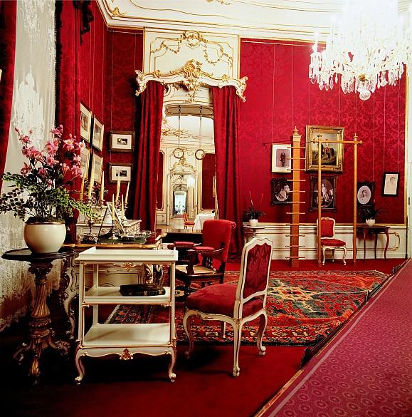 Elisabeth's dressing room in the Vienna Hofburg