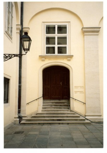 Entrance to the Bundesdenkmalamt