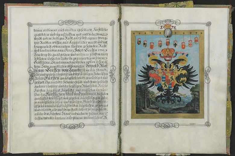 Erhebung des Leopold Matthias Graf von Lamberg in den Fürstenstand, Libell vom 1. November 1707