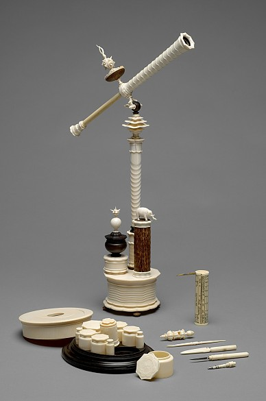 Telescope with writing implements, 1st half of 17th century