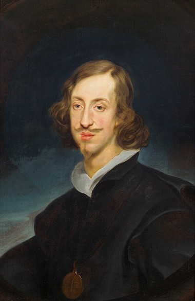 Frans Luycx: Archduke Leopold Wilhelm in canonical dress, c. 1638