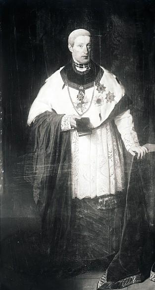 Friedrich Amerling: Erzherzog Rudolf als Kardinal, Reproduktion nach Ölgemälde, 1831