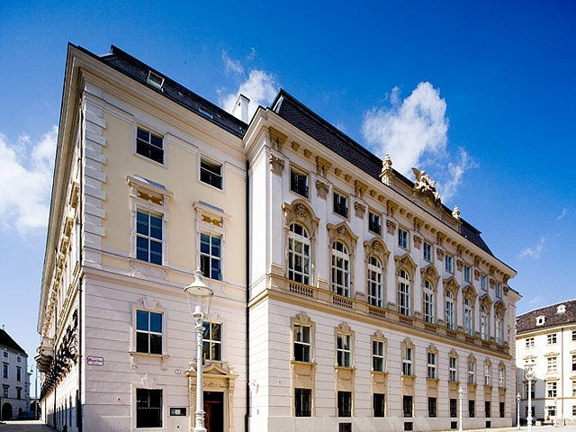 Building of the Household, Court and State Archives, Minoritenplatz, Vienna