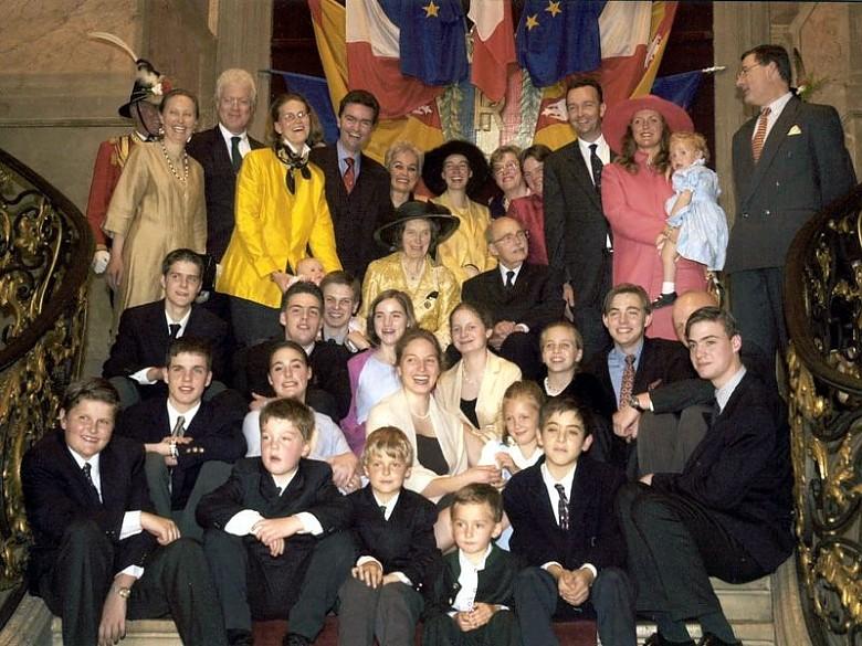 Goldene Hochzeit von Otto und Regina von Habsburg