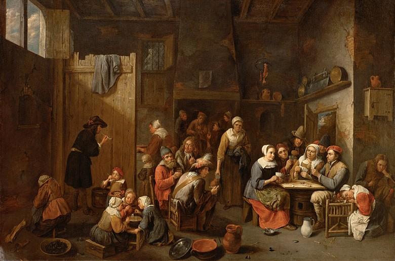 Gillis van Tilborch: Bauernwirtschaft, 17. Jahrhundert