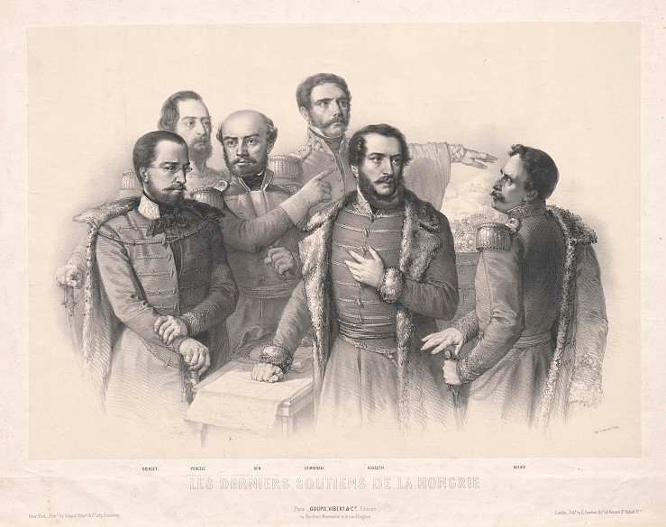 Group portrait: Kossuth and the pillars of the Hungarian Revolution