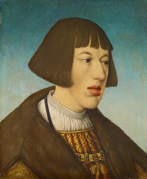 Hans Maler: Archduke Ferdinand, 1521, limewood panel