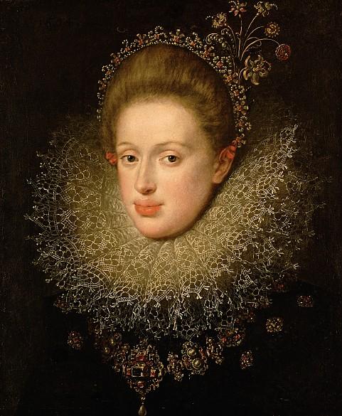 Hans von Aachen: Archduchess Anna (1585–1618), daughter of Archduke Ferdinand II, ruler of Tyrol, wife of E...