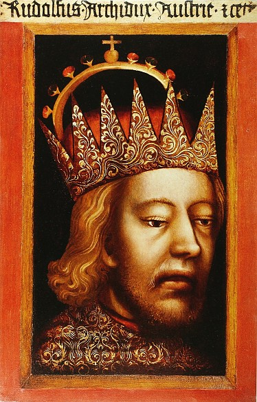 Duke Rudolf IV, painting, 1360/65