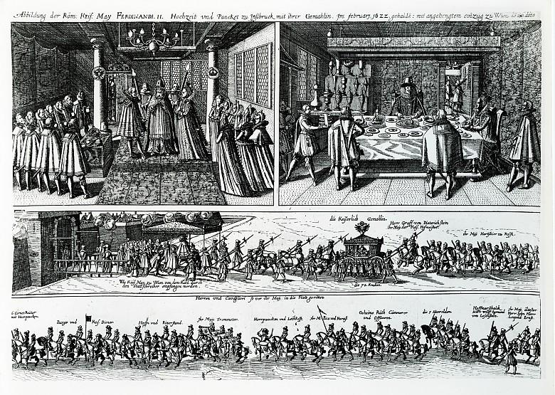 Marriage of Emperor Ferdinand II and Eleonora Gonzaga