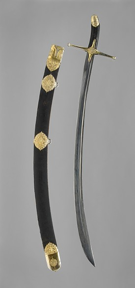 Istanbul court workshop: Sabre and scabbard, c. 1550