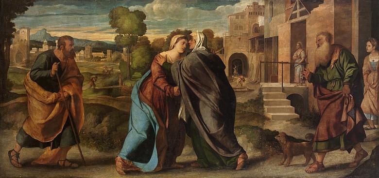Jacopo Negretti, gen. Palma il Vecchio: Heimsuchung Mariae, um 1520/22