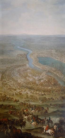 Jacques-Ignace Parrocel: Battle of Zenta, c. 1711/1720