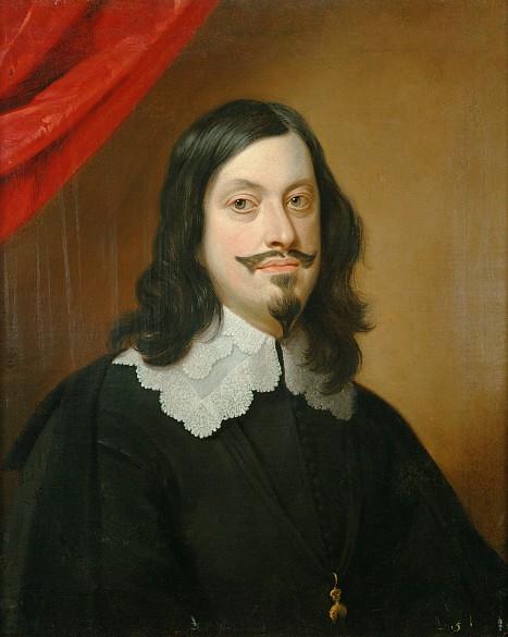 Jan van den Hoecke: Emperor Ferdinand III (1608–1657), half-length portrait, c. 1643