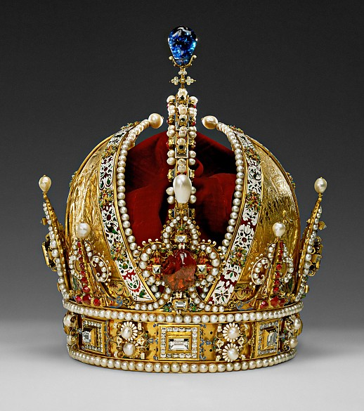 Jan Vermeyen: The crown of Emperor Rudolf II, later the crown of the Austrian Empire, 1602